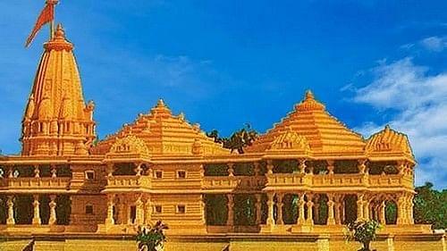 ராமர் கோயில் மாதிரி படம்