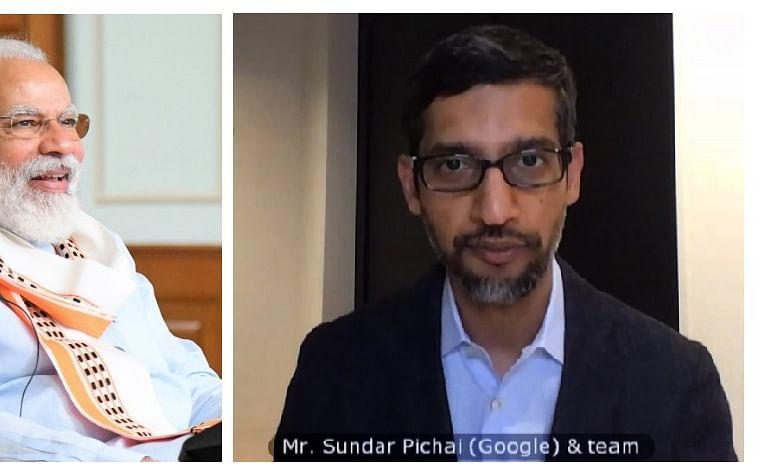 Google: `இந்தியாவில் ரூ.75,000 கோடி முதலீடு!'- மோடியுடன் கலந்துரையாடிய சுந்தர்பிச்சை