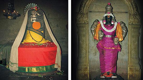 வீரட்டேசுவரர், ஞானாம்பிகை