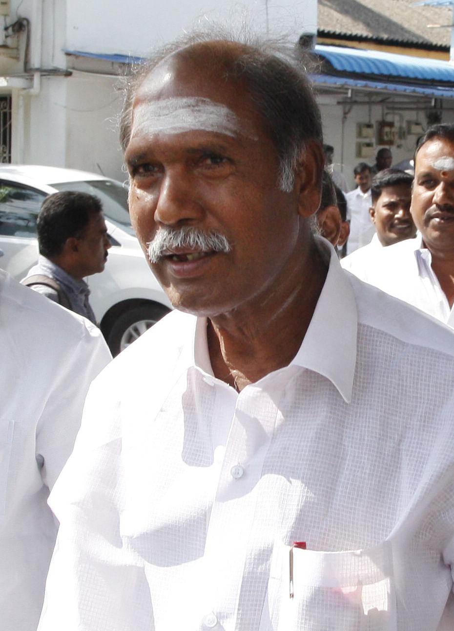 முன்னாள் முதல்வர் ரங்கசாமி