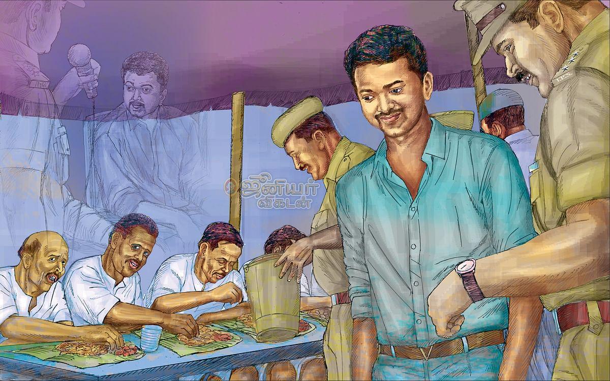 ஜெயில்... மதில்... திகில்! - 40 - சென்னை மத்தியச் சிறையில் நடிகர் விஜய்!