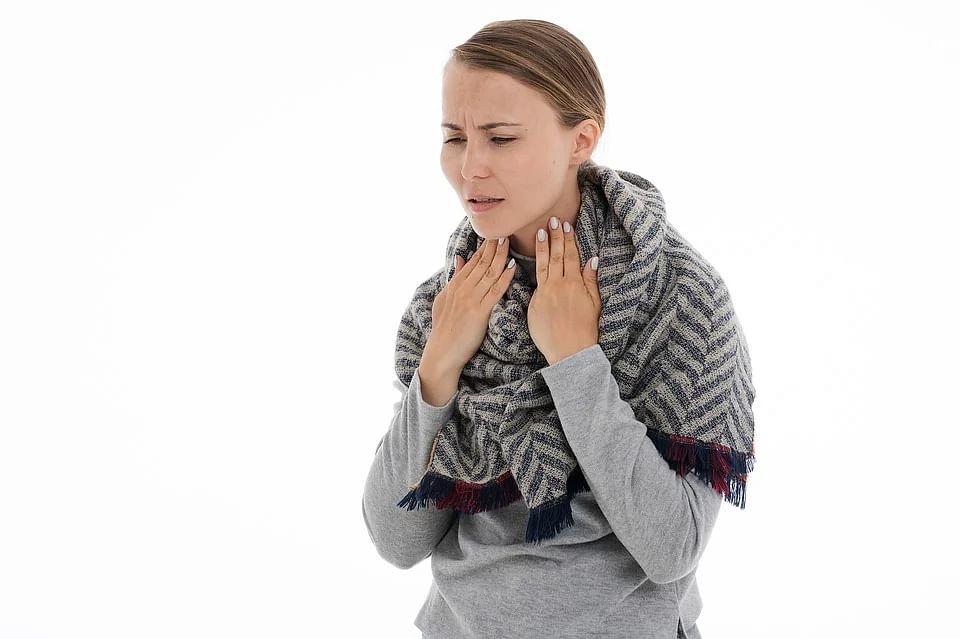 corona and throat problem