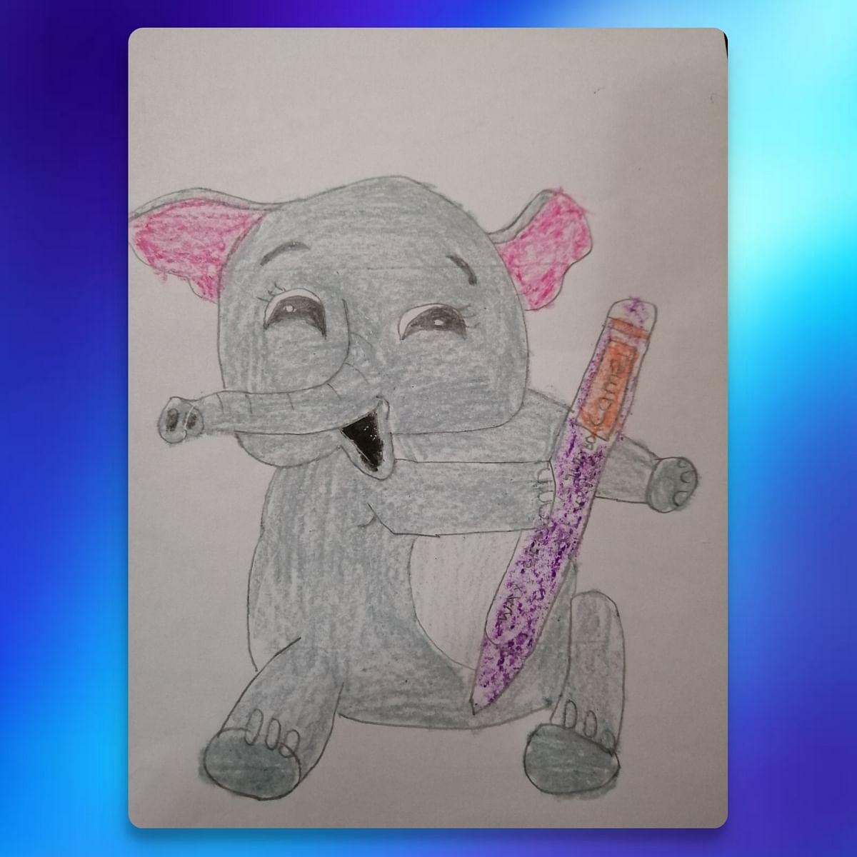Drawing elephant