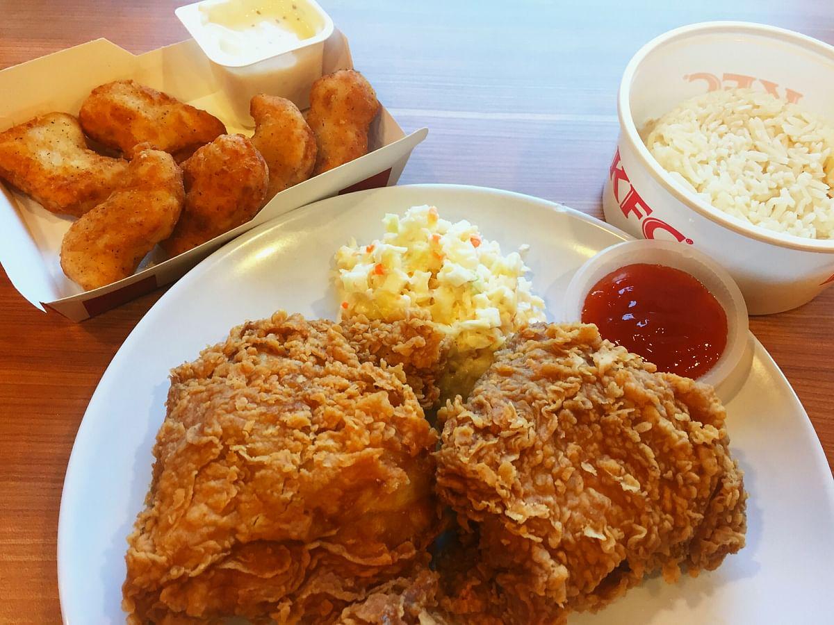 3D பிரின்டிங்கில் `சிக்கன் நக்கெட்ஸ்'... KFC-யின் இந்த புதிய முயற்சிதான் எதிர்காலமா?