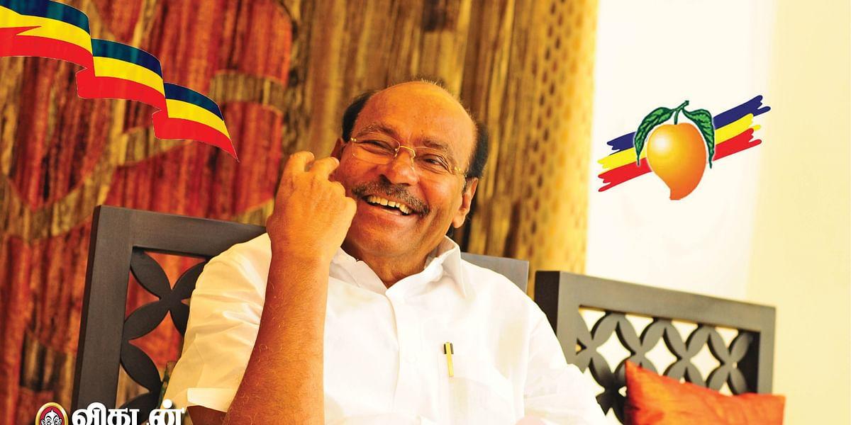 பா.ம.க நிறுவனர் ராமதாஸ்
