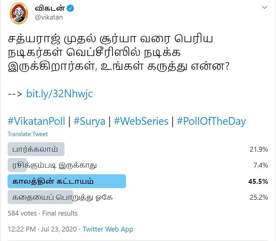 OTT | Vikatan Poll