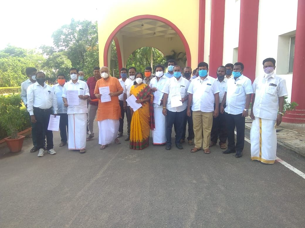 பி.ஜே.பி புகார் மனு