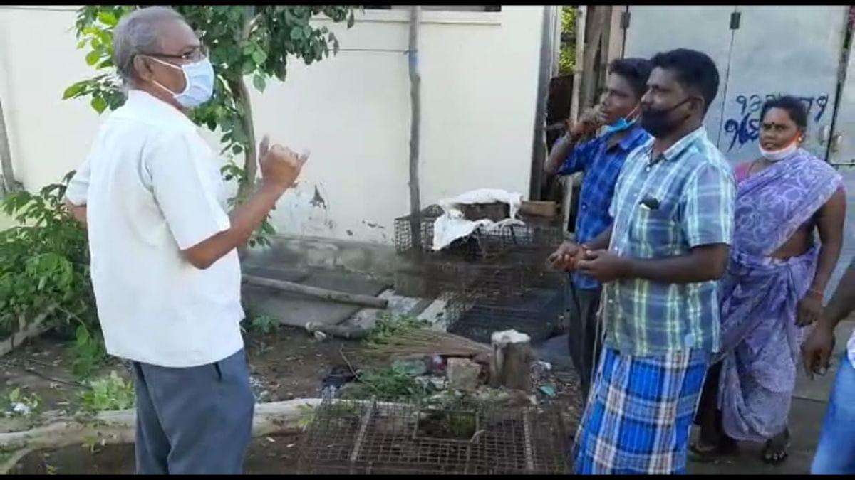வெங்கடேஷை எச்சரிக்கும் ஸ்காட் தங்கவேல்