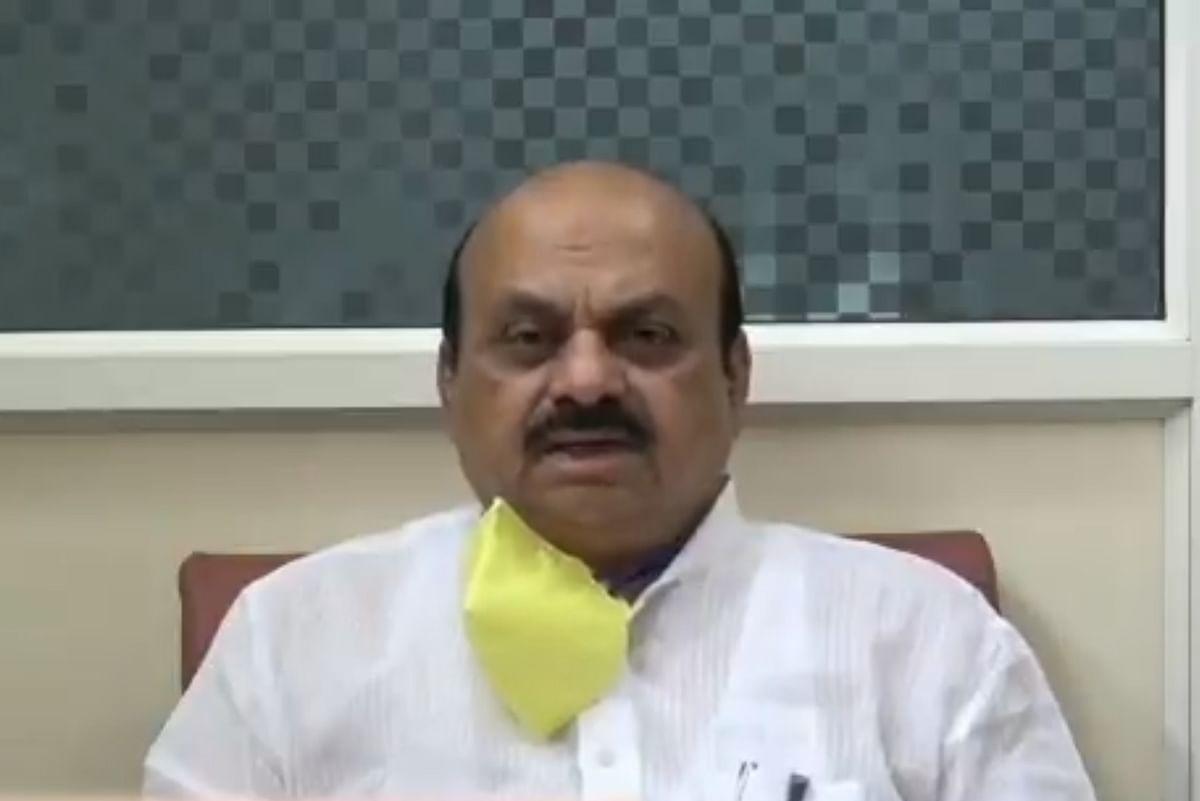 அமைச்சர் பசவராஜ் பொம்மை