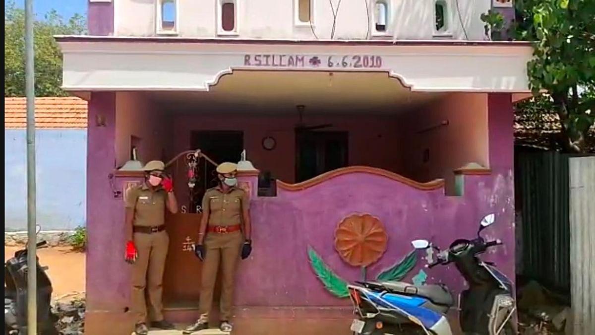 தலைமை காவலர் ரேவதி வீட்டிற்கு போலீஸ் பாதுகாப்பு