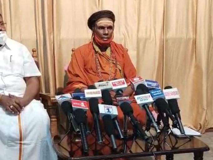 கந்த சஷ்டி விவகாரம்: `இனியும் பொறுக்க மாட்டோம்!' - காமாட்சிபுரி ஆதீனம் சிவலிங்கேஸ்வர சுவாமிகள்