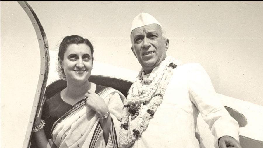 நேரு, இந்திரா