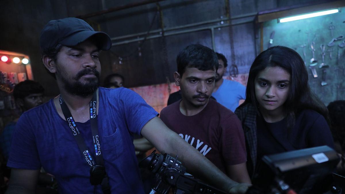 கீர்த்தி சுரேஷ் - கார்த்திக் பழனி