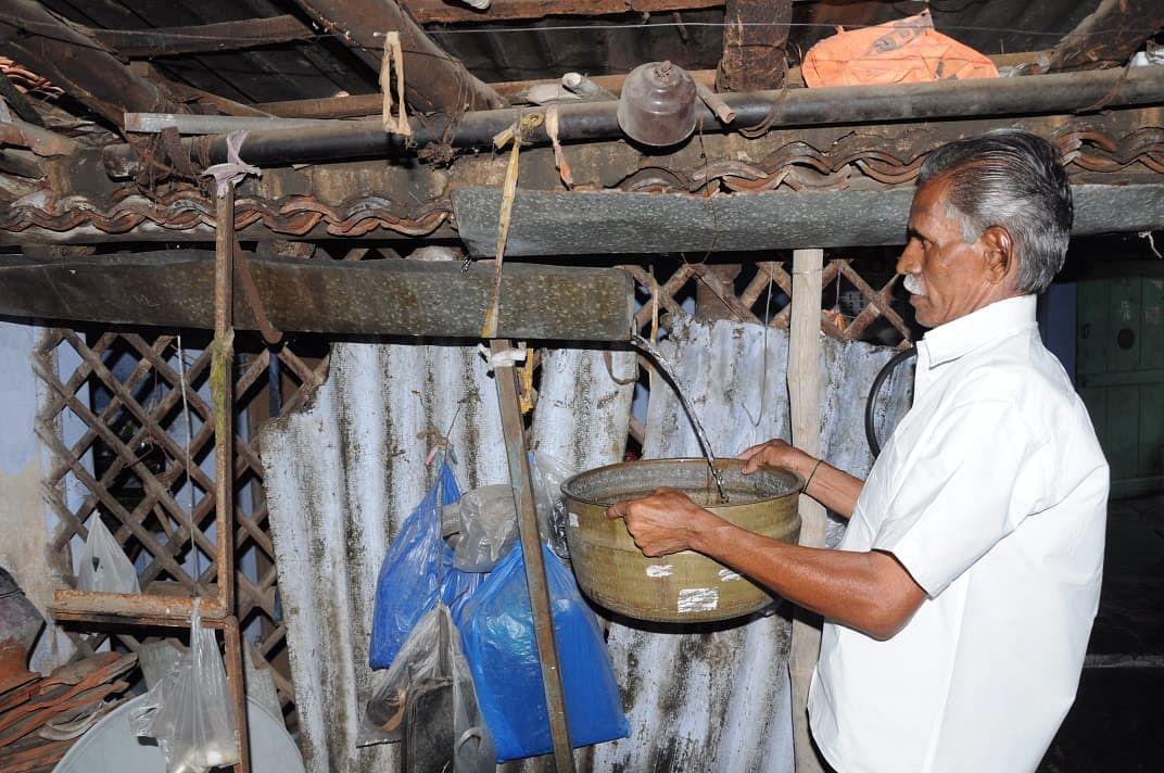 மழைநீர் சேகரிப்பில் தேவராஜ்