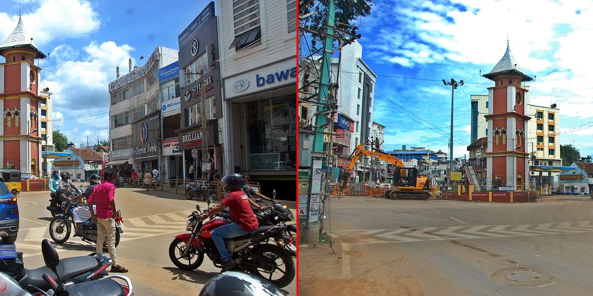 ஊரடங்குக்கு முன்பும் பின்பும், நாகர்கோவில் மாநகரம்