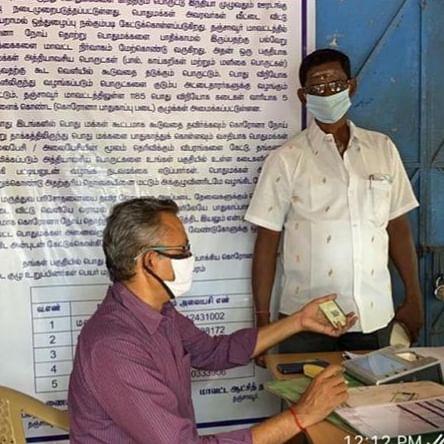 கொரோனா  நேரத்திலும் முறைகேடு ஆய்வு செய்த அதிகாரிகள்