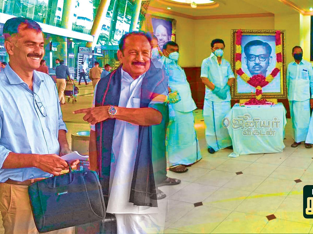 மிஸ்டர் கழுகு: ம.தி.மு.க-வில் வாரிசு அரசியல்...