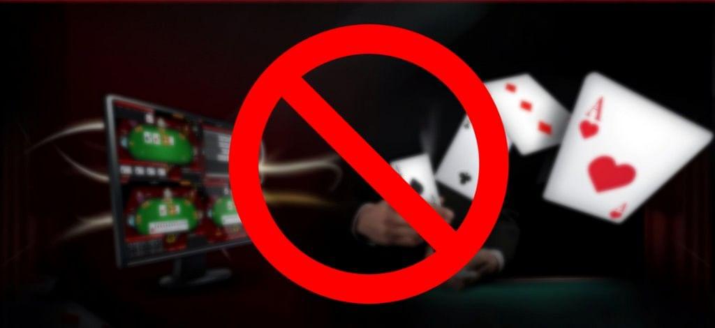 ban online gambling games