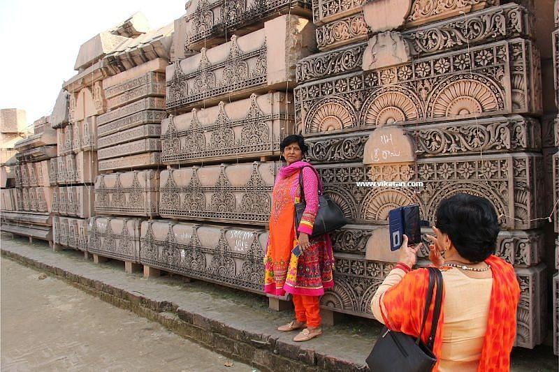 ராமர் கோயில் கட்டுமானப் பொருள்கள்