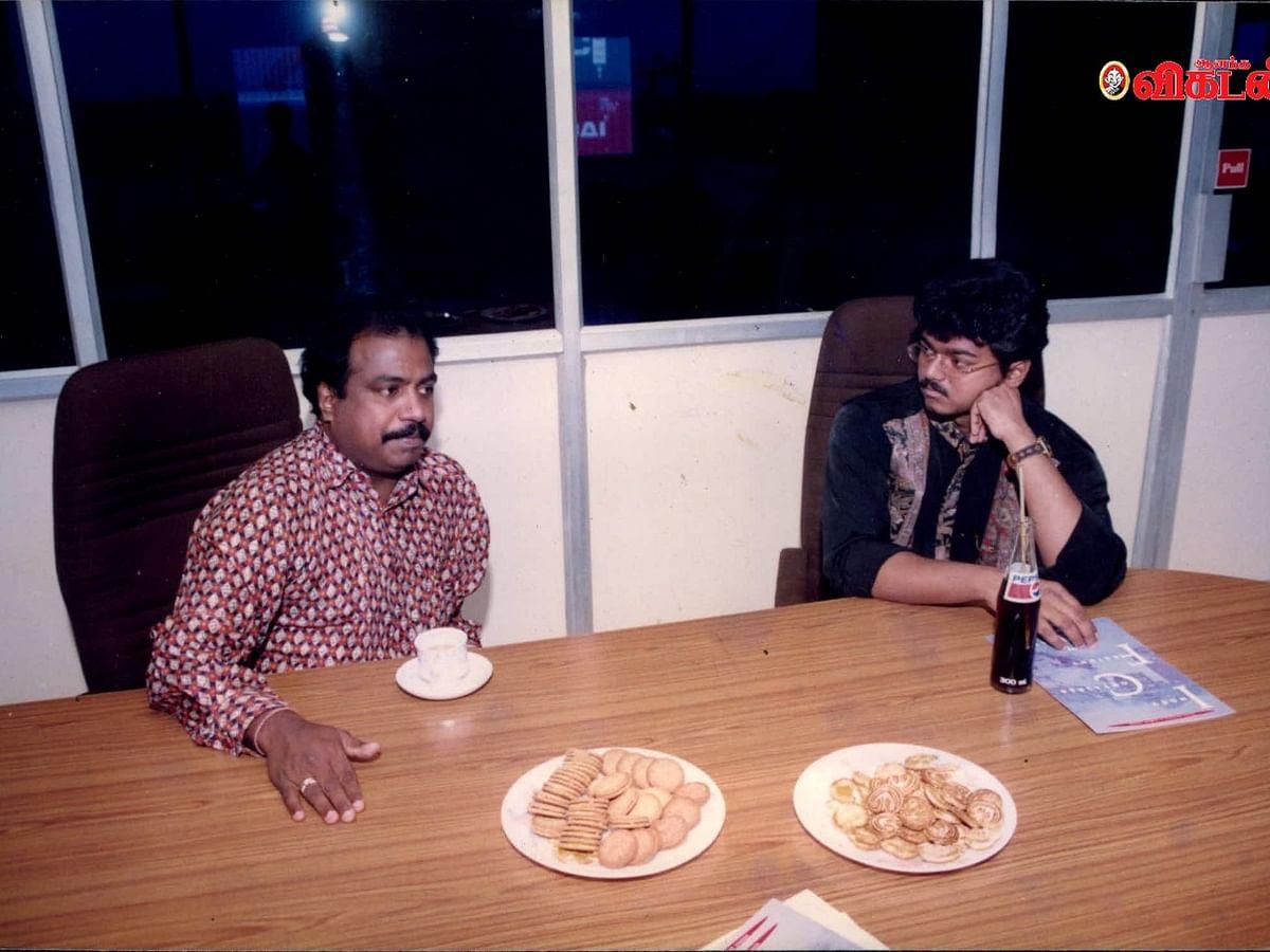``விஜய் நம்பர் 1 ஆக இருக்க அவர் கடைப்பிடிக்கும் அந்த மூன்று விஷயங்கள்?!'' - `மாஸ்டர்' பிரிட்டோ