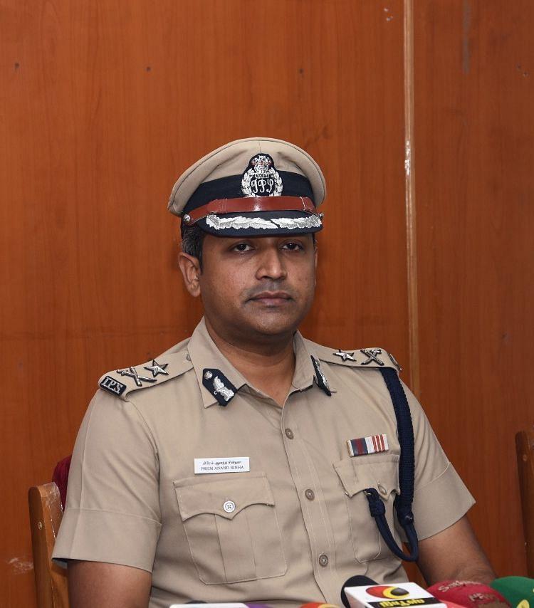 பிரேம் ஆனந்த் சின்ஹா.ஐ.பி.எஸ்