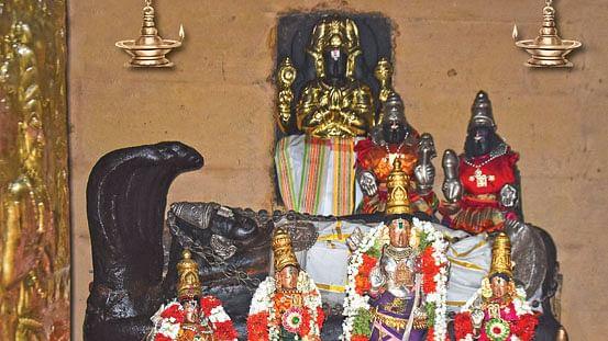 ஸ்ரீகிருபாசமுத்திரப் பெருமாள் - திருமாமகள் நாச்சியார்