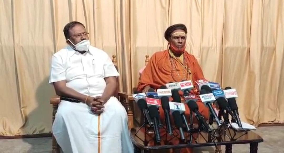 காமாட்சிபுரி ஆதீனம் சிவலிங்கேஸ்வர