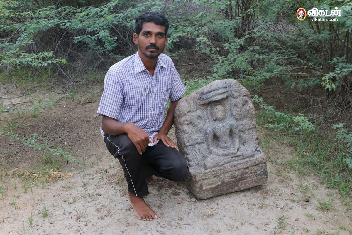 கல்வெட்டு ஆய்வாளர் மூனீஸ்வரன்