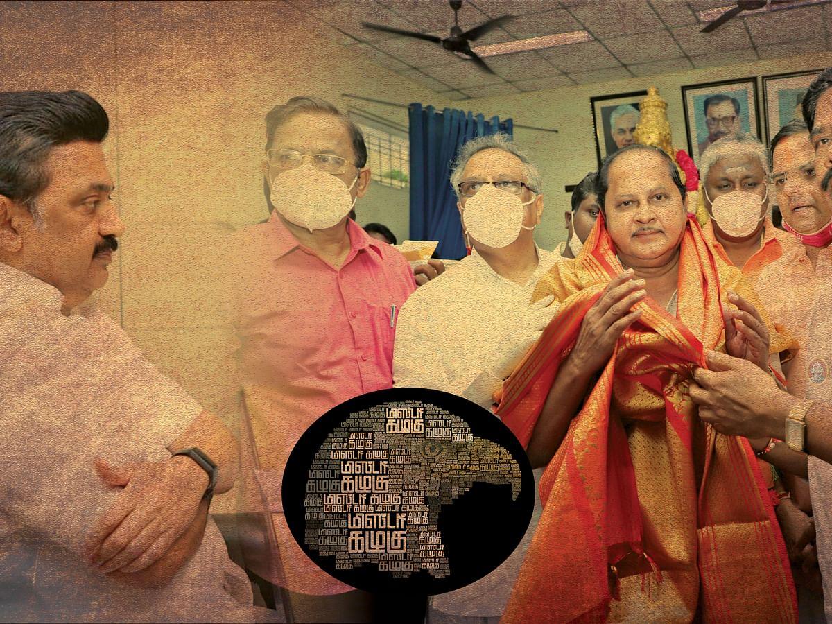 பா.ஜ.க-வுக்கு நெருக்கமான 'கல்வித்தந்தை'... கு.க.செல்வம் மனதைக் கரைத்ததில் 'பங்கு'!