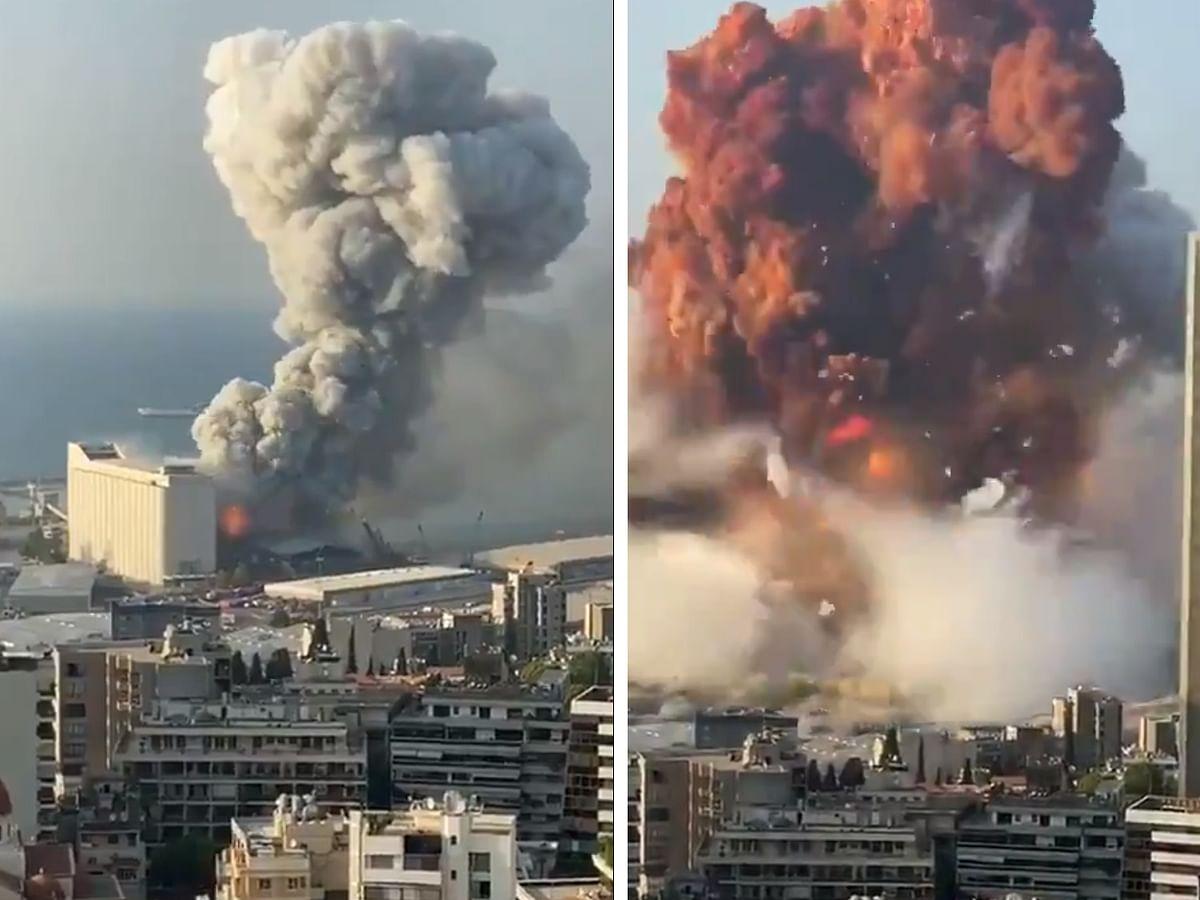 BeirutBlast :`2,750 டன் அமோனியம் நைட்ரேட்; கட்டடங்கள் தரைமட்டம்!' - லெபனான் விபத்தின் பின்னணி