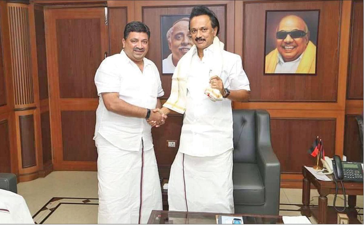 ஸ்டாலினுடன் பழனிவேல் தியாகராஜன்
