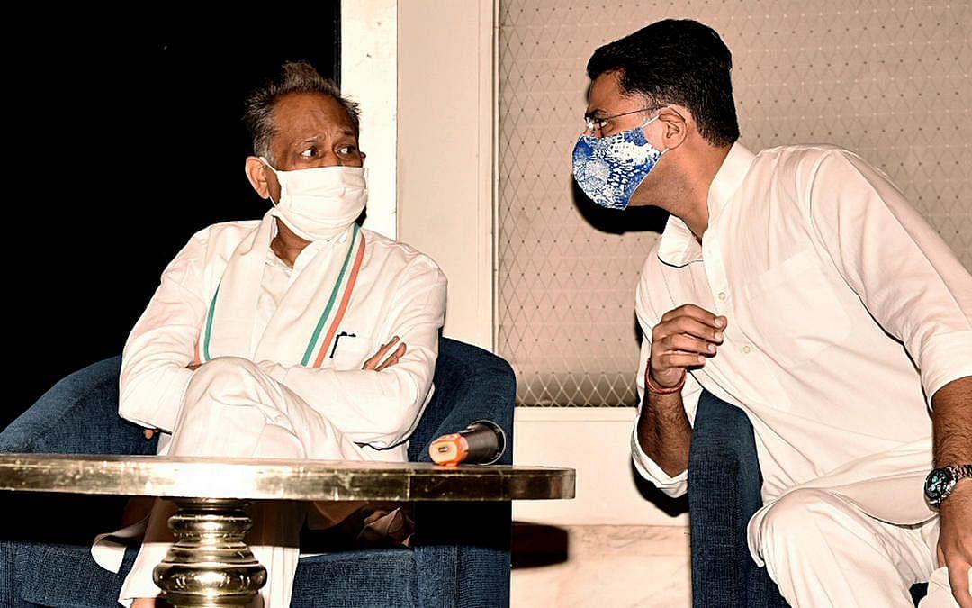 அசோக் கெலாட், சச்சின் பைலட்