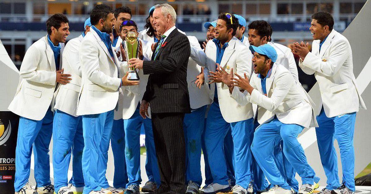 Dhoni Champions Trophy