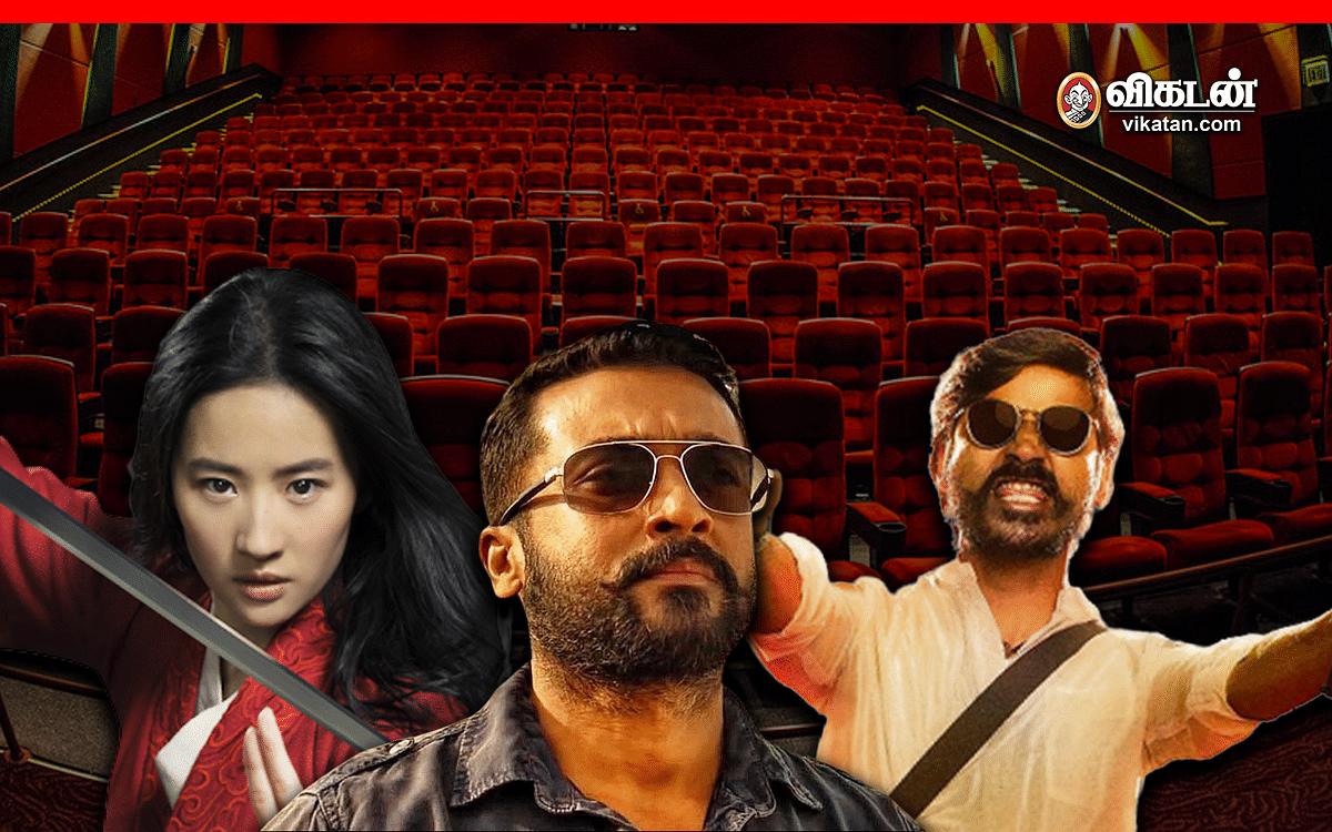 திரையரங்குகளைக் கைவிடும் ஹாலிவுட்... பின்தொடர்கிறதா கோலிவுட்? #OTT #PVOD #Tenet
