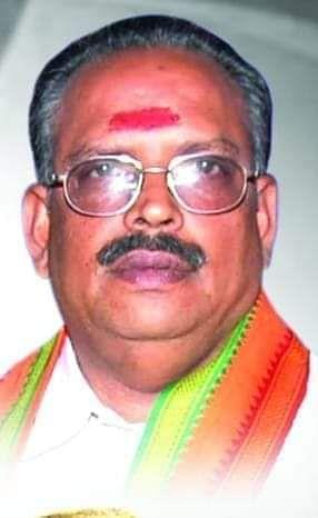 பா.ஜ.க மாநில செய்தி தொடர்பாளர் எம்.எஸ்.ராமலிங்கம்
