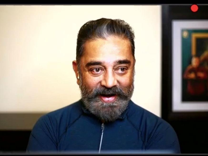 """""""அடடே... கமல் சார் நீங்களா?"""" - பெப்பர் ஸ்ப்ரேயரின் சில கேள்விகள்! #KamalHaasan"""