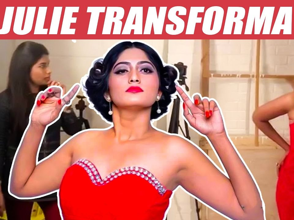 Julie's Latest New Sensational Photoshoot Making Video | Bigg Boss