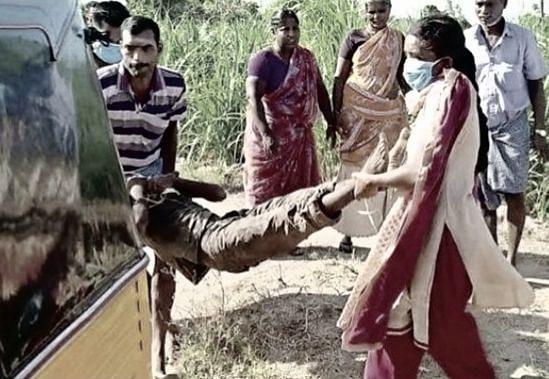 தி.மலை: `அழுகையைக் கட்டுப்படுத்திக்கிட்டு நின்னேன்!' - பெண் இன்ஸ்பெக்டரை நெகிழ வைத்த ஆட்சியர்