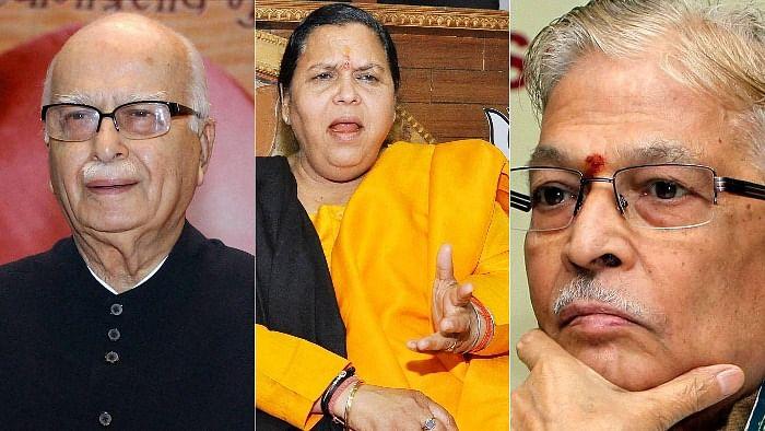 அத்வானி, உமாபாரதி, முரளி மனோகர் ஜோஷி