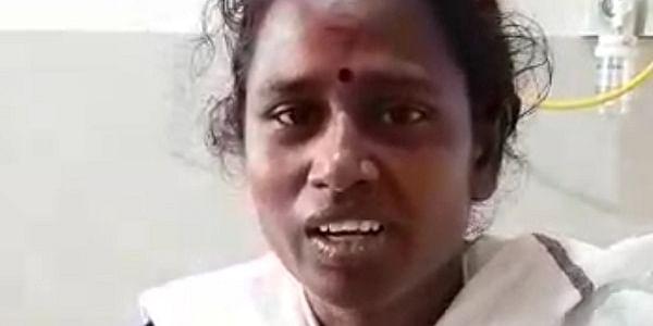 மாநகராட்சி ஒப்பந்தப் பணியாளர் பாக்கியலட்சுமி