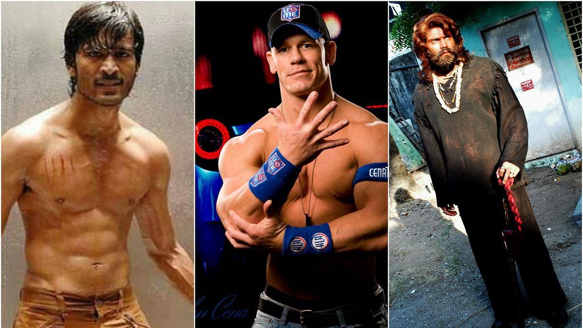 WWE fighters vs தமிழ் சினிமா ஹீரோஸ்