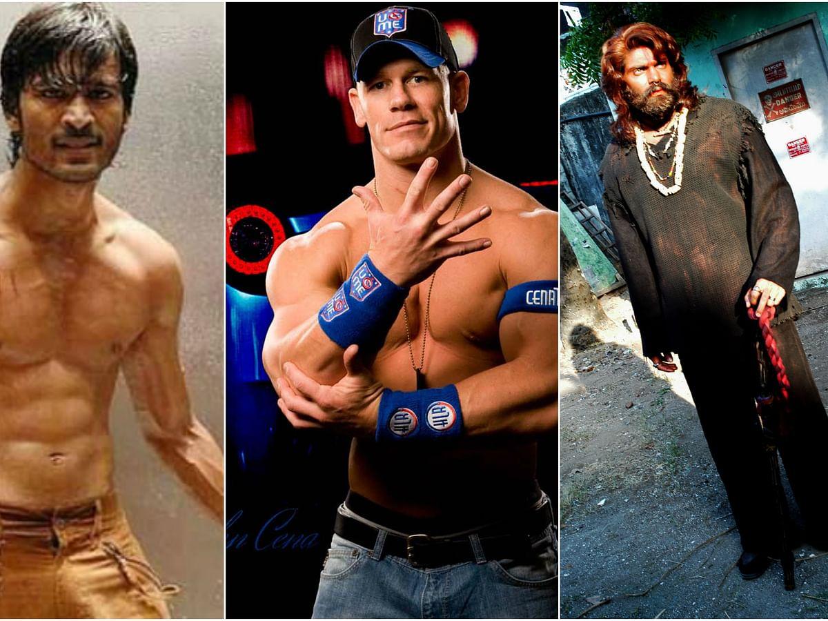 WWE fighters vs தமிழ் சினிமா ஹீரோஸ்..! - ஒரு ஃபன்  கற்பனை #MyVikatan