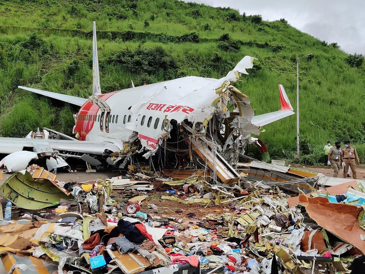Air Crash: `முன் இருக்கையைக் கெட்டியாகப் பிடித்துக் கொண்டோம்!' - காயமடைந்தவரின் வேதனை