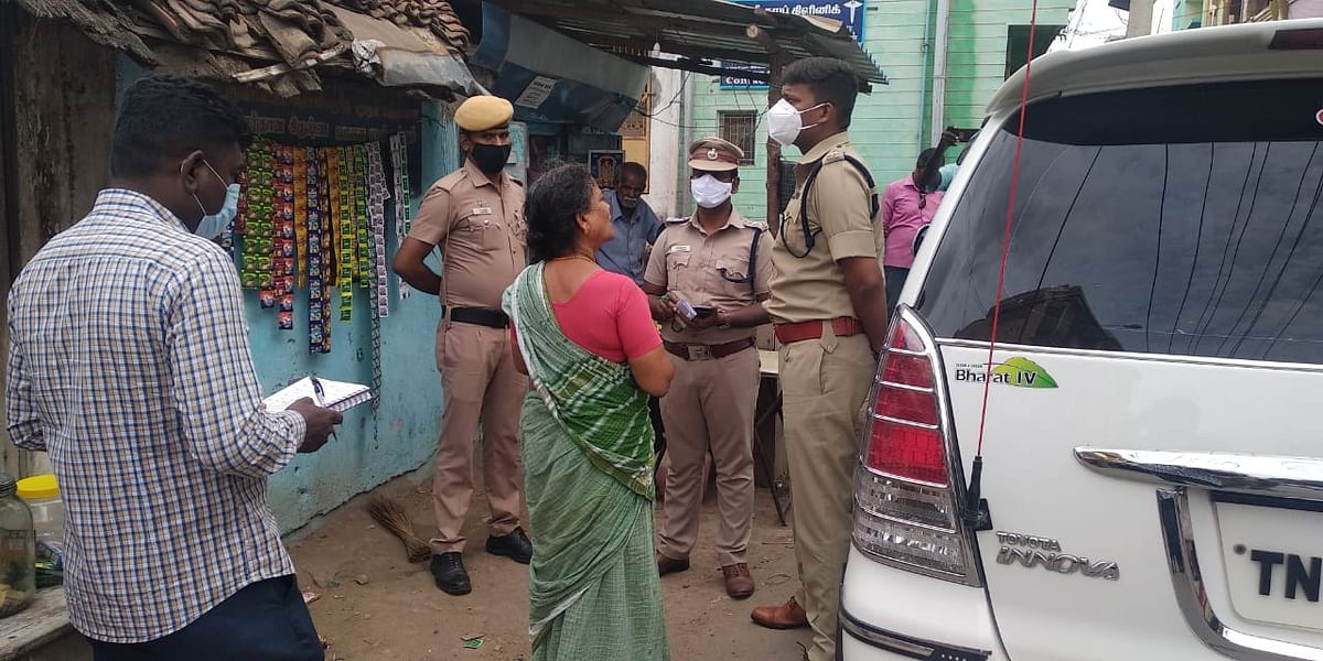 மாவட்ட காவல் கண்காணிப்பாளர் வருண்குமார்