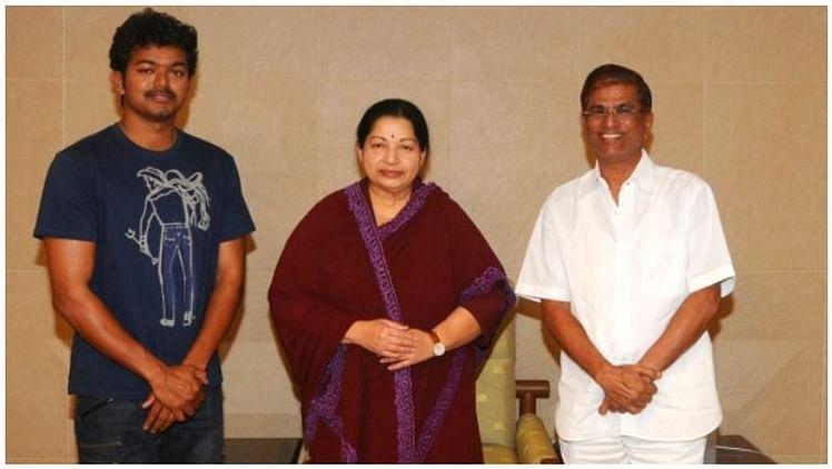 vijay, Jayalalithaa and S. A. Chandrasekhar