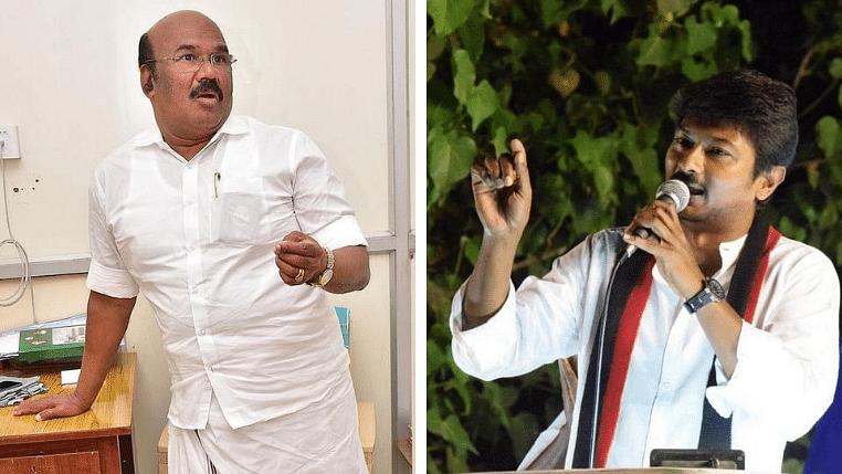ஜெயக்குமார் vs உதயநிதி