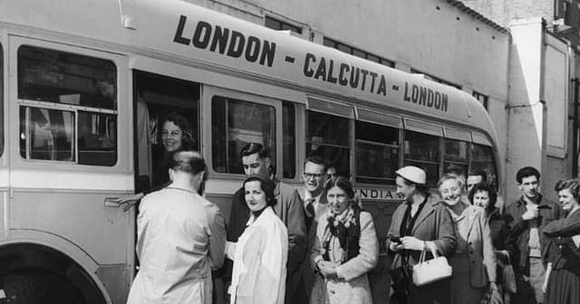 Calcutta to London (From History)