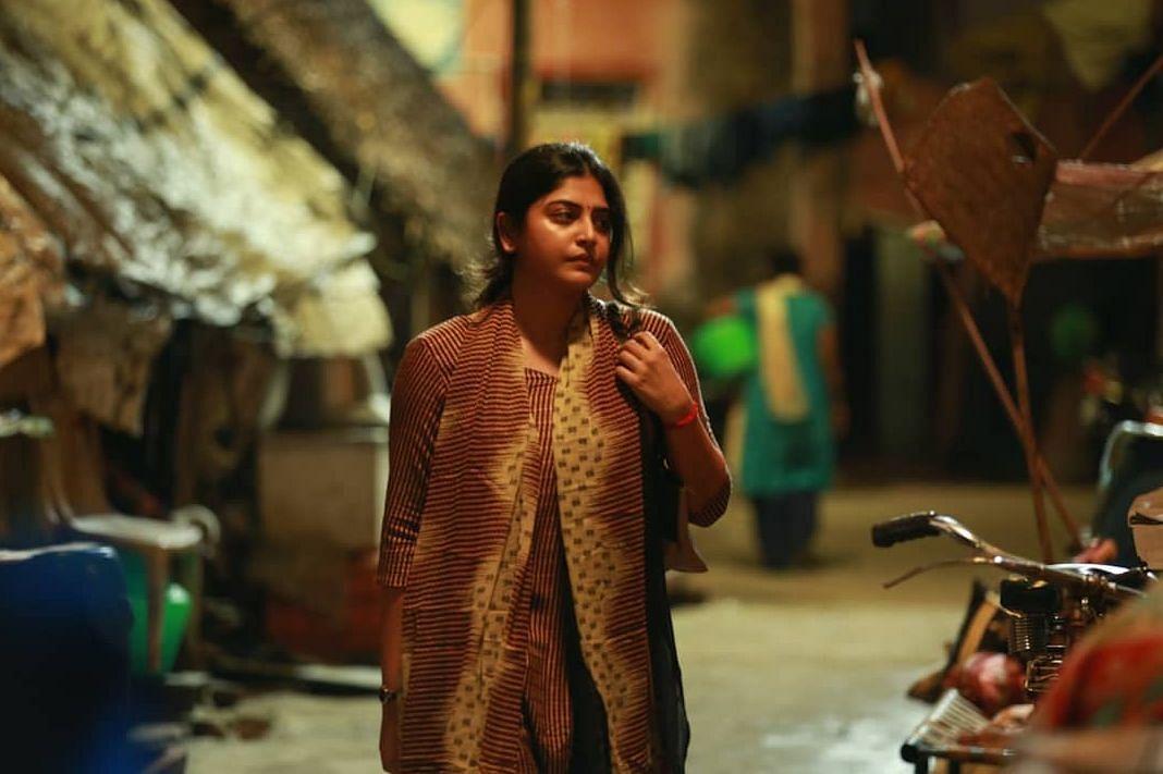 'துக்ளக் தர்பார்' படத்தில் மஞ்சிமா நடித்த முதல் சீன்