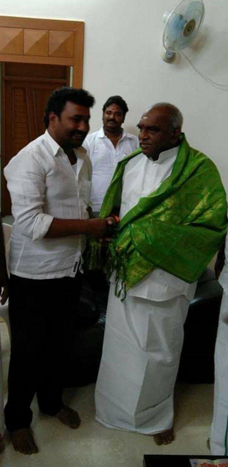 பொன்.ராதாகிருஷ்ணனுடன் அடைக்கலராஜ்