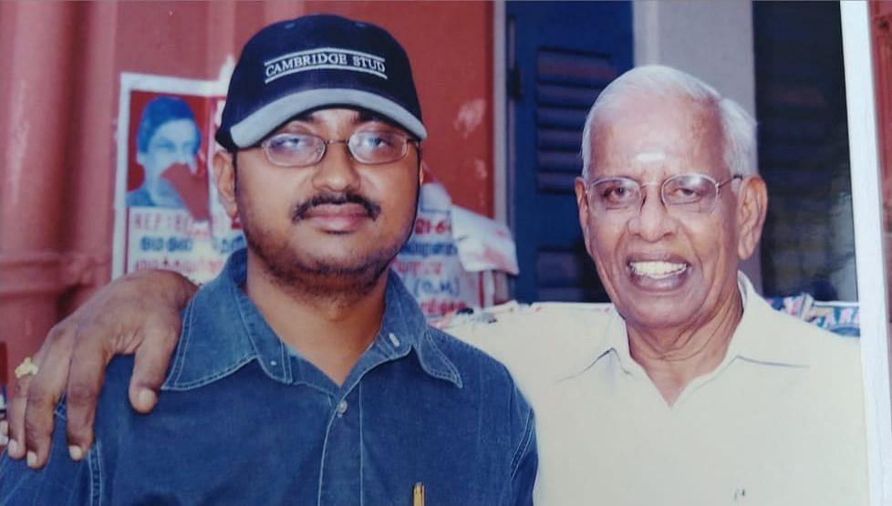 இயக்குநர் சரண் - நாகேஷ்